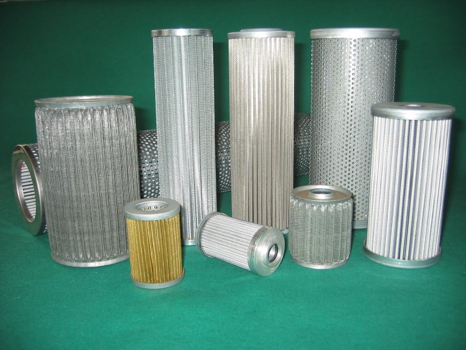 Filtri in rete metallica per fluidi